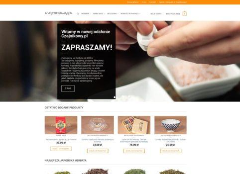 Nowoczesny portal o herbacie Czajnikowy.pl
