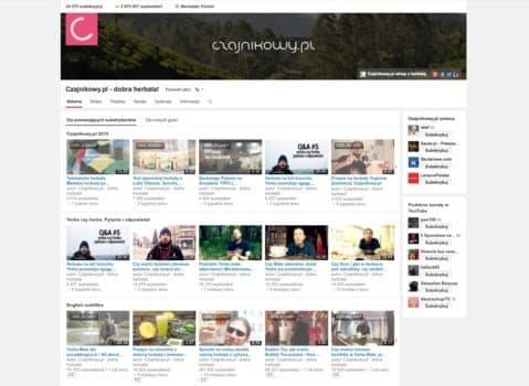Youtube Czajnikowy.pl