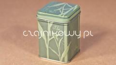 Puszka na herbatę zielona Tea