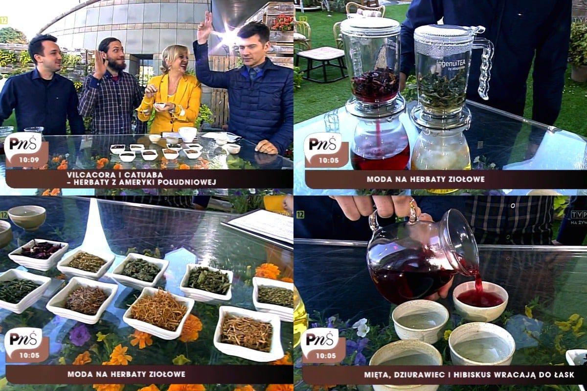 Pytanie na śniadanie TVP2 herbaty ziołowe