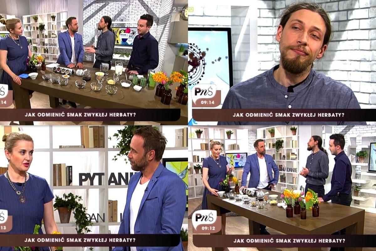 TVP Pytanie na Śniadanie: dodatki do herbaty