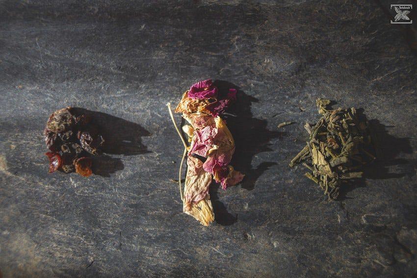 Herbata zielona Sakura: składniki mieszanki