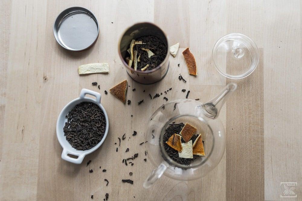 Jak dodać herbacie smaku? Aromatyzowane skórką pomarańczową