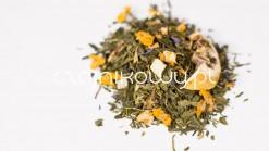 Herbata zielona Pigwa z cytryną
