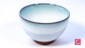 Czarka do herbaty błękitna Light Blue