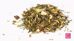 Herbata zielona ananasowo morelowa