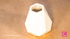 Matero o yerba mate biały diament