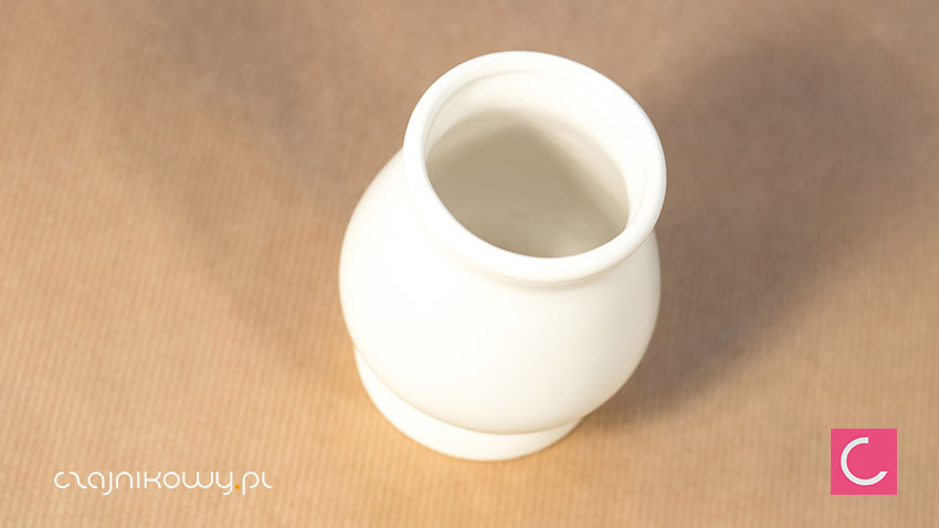 Matero do yerba mate klasyczne białe gruszkaMatero do yerba mate klasyczne białe gruszka
