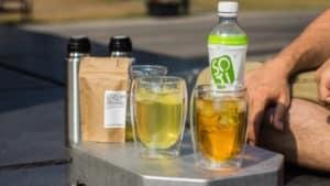 Herbata zielona Soti Natural, opinie, test. Przepis na ice tea z Gyokuro