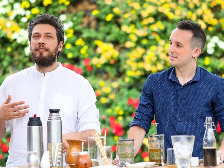 Rafał Przybylok i Patryk Płuciennik, eksperci ds. herbaty /fot. Pytanie na Śniadanie