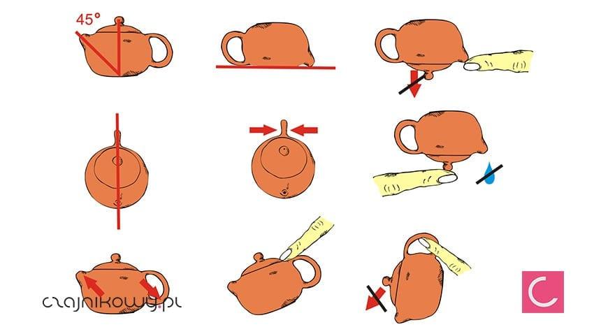 Jak rozpoznać prawdziwy czajnik z glinki Yixing wskazówki