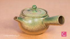 Japoński czajnik do herbaty seledynowy