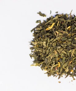 Herbata zielona wiśniowa sencha premium
