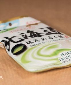Cukierki o smaku zielonej herbaty Matcha Milk całe opakowanie