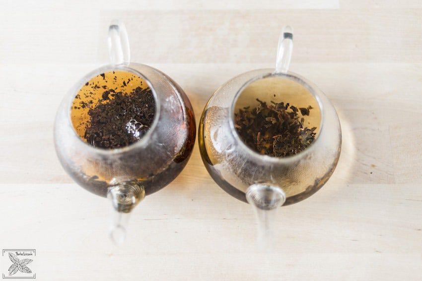 Herbata czarna: Ceylon Dimbula Uduwela i Lovers Leap parzenie