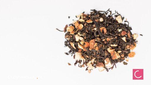 Herbata czarna cynamonowo pomarańczowa świąteczna