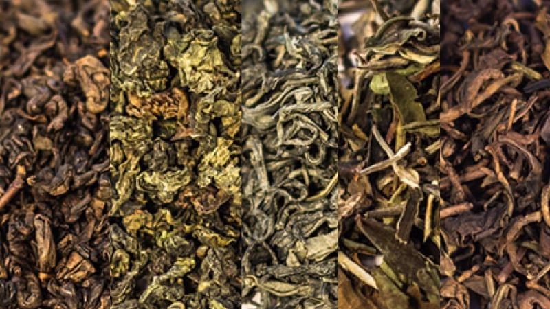 6 kolorów herbaty herbata zestaw