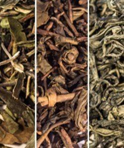 6 kolorów herbaty. Herbata zestaw dla początkujących