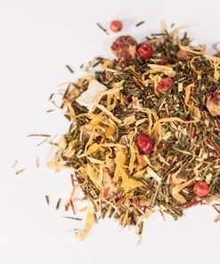 Herbata rooibos jabłkowo pomarańczowa organiczna