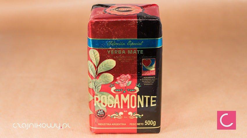 Yerba mate Rosamonte wyselekcjonowana