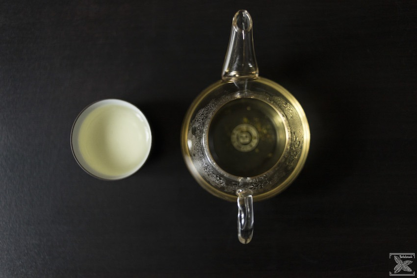 Herbata Tie Guan Yin Oolong, napar