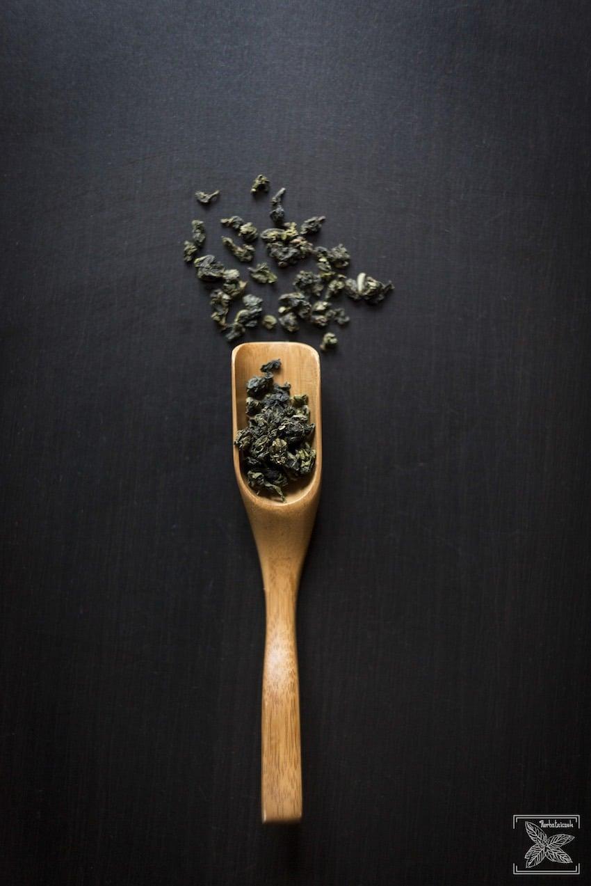 Herbata Tie Guan Yin Oolong, liście