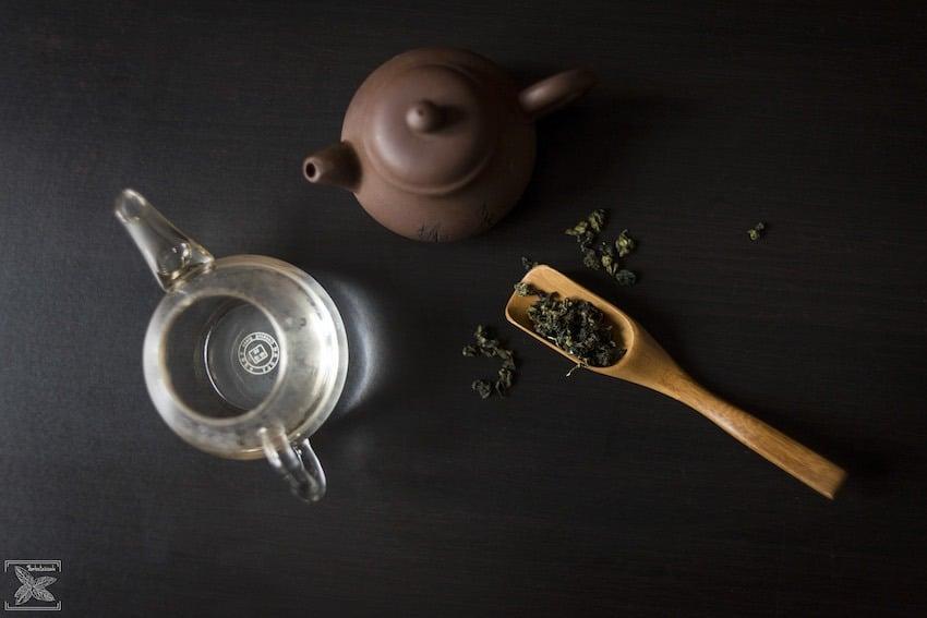 Herbata Tie Guan Yin Oolong, parzenie