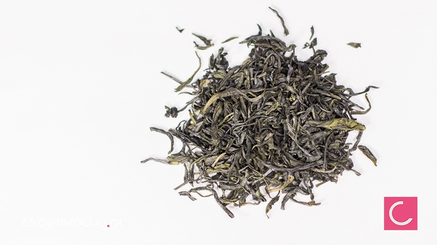 Herbata zielona En Shi Yu Lu drogocenna rosa organiczna organic