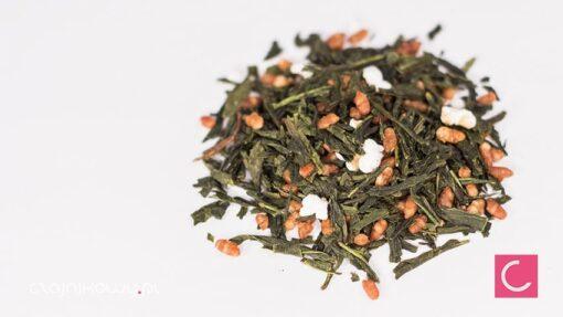 Herbata zielona Genmaicha organiczna organic