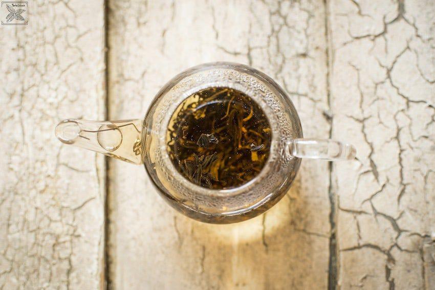 Herbata czarna Sweet Black organiczna, parzenie