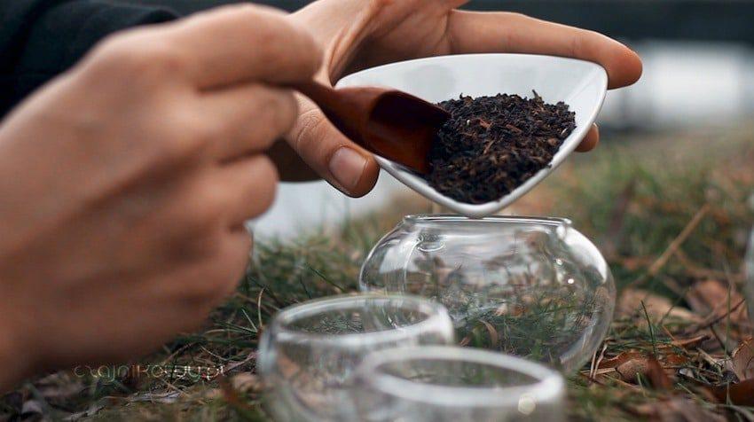 Herbata na Walentynki: herbata czarna Ceylon Lovers Leap, liście