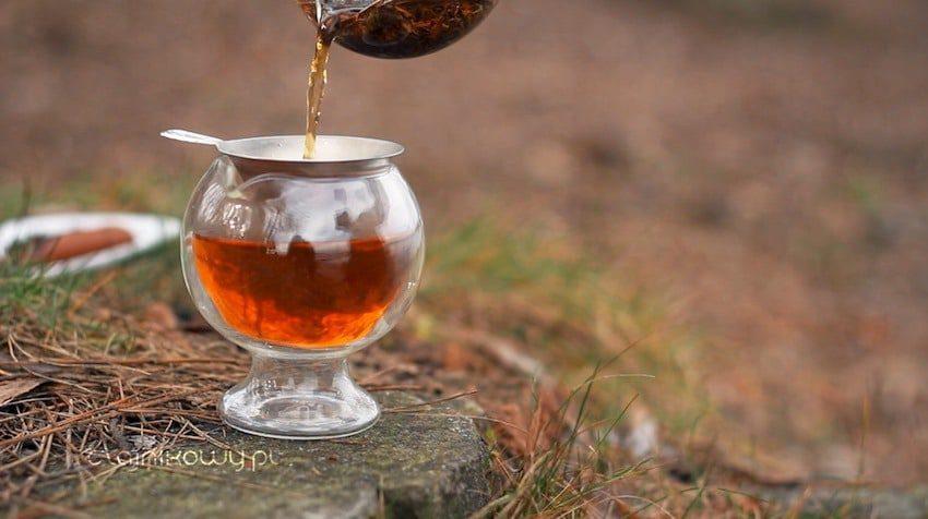 Herbata na Walentynki: herbata czarna Ceylon Lovers Leap, parzenie herbaty