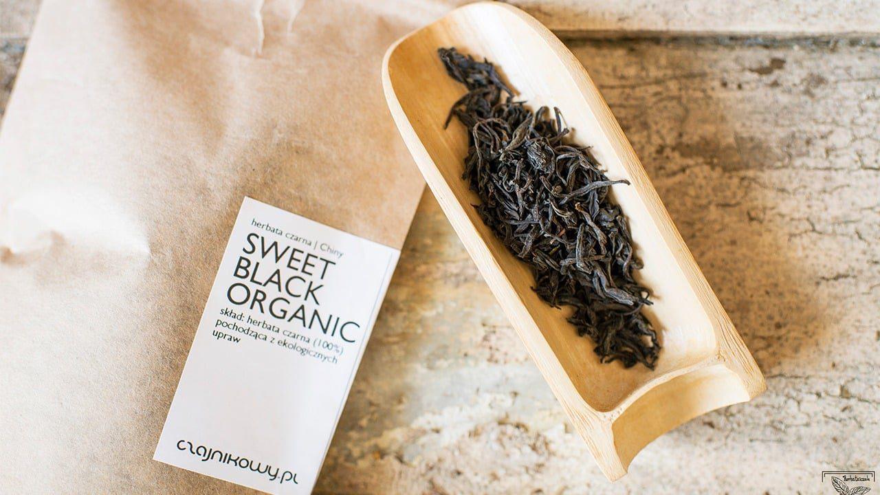 Herbata czarna Sweet Black organiczna, parzenie, opinie