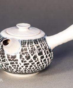 Czajnik do herbaty Biały kora porcelana ceramika artystyczna