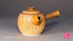 Czajnik do herbaty Miodowy porcelana ceramika artystyczna