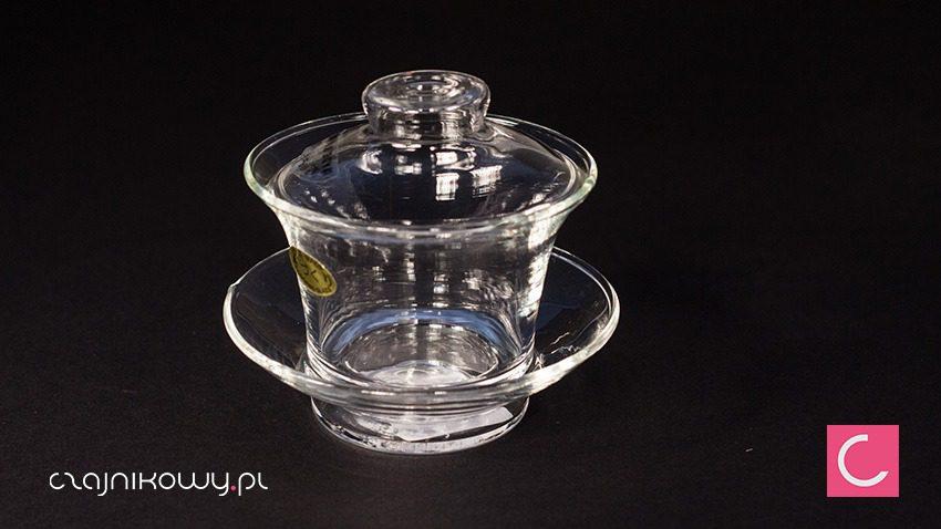 Gaiwan szklany do herbaty