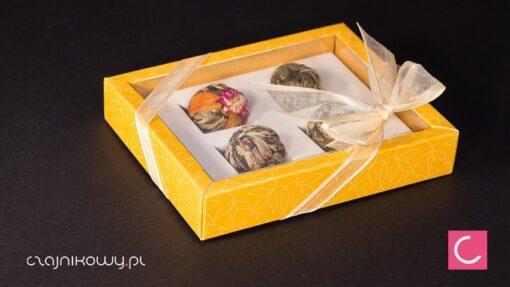 Herbata Artystyczna Rozwijająca się Bombonierka Yellow