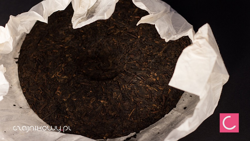 Herbata czerwona Pu-erh Bu Lang Mountain 357g