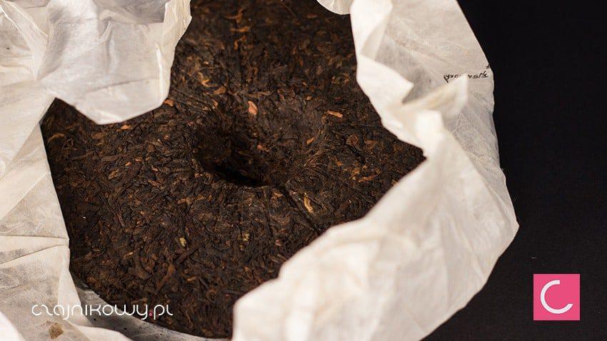 Herbata czerwona Pu-erh Nan Nuo Mountain 357g