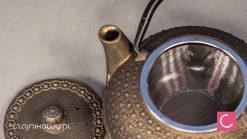 Żeliwny Czajnik do herbaty Czołg 0,6l
