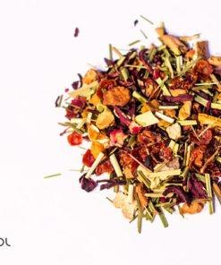 Herbata owocowa pomarańczowo jabłkowa organiczna organic