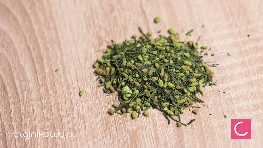 Herbata zielona Genmaicha z Matcha