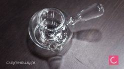 Czajnik szklany do herbaty ze szklanym sitkiem 600ml