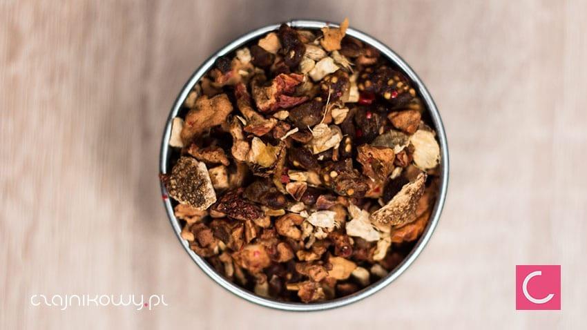 Herbata owocowa figowa naturalna organiczna organic