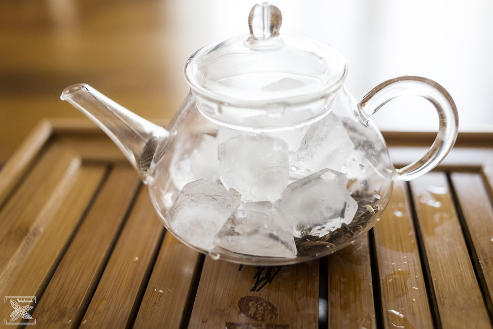 Żółta herbata Kekecha zaparzana lodem