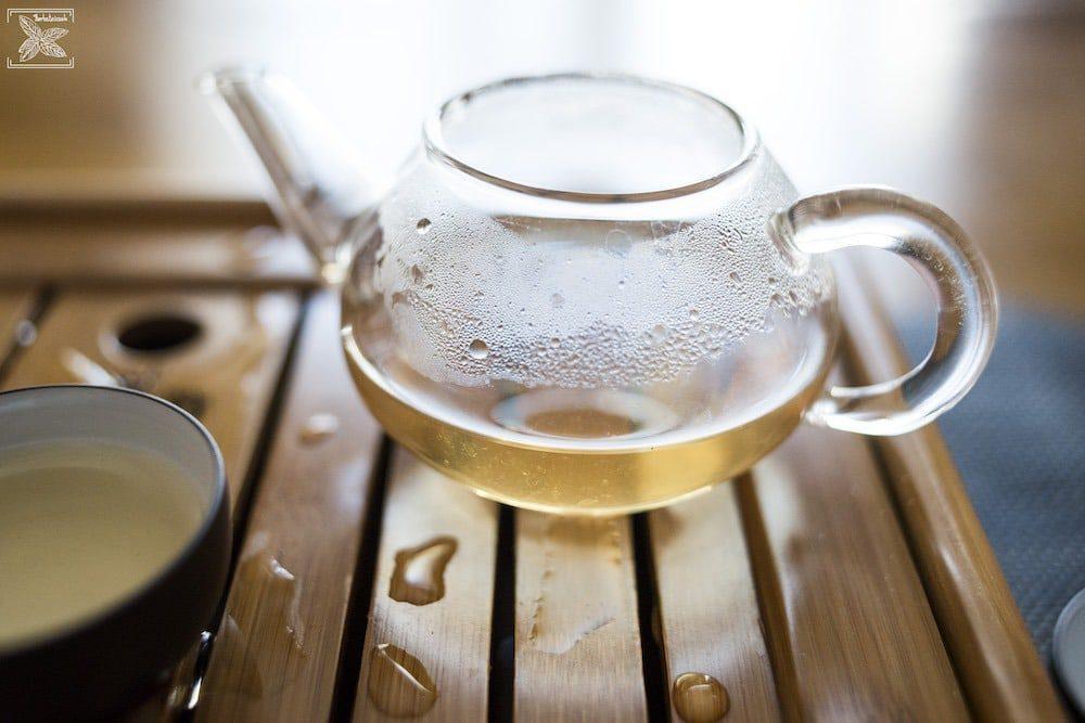 Żółta herbata Kekecha - pierwsze parzenie