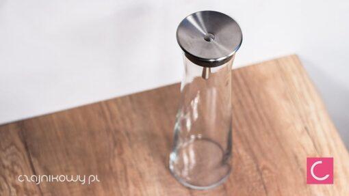 Szklany dzbanek do herbaty 1,1l samoczynnie zamykający się