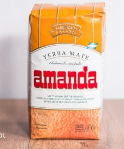 Yerba mate Amanda Naranja pomarańczowa 500g