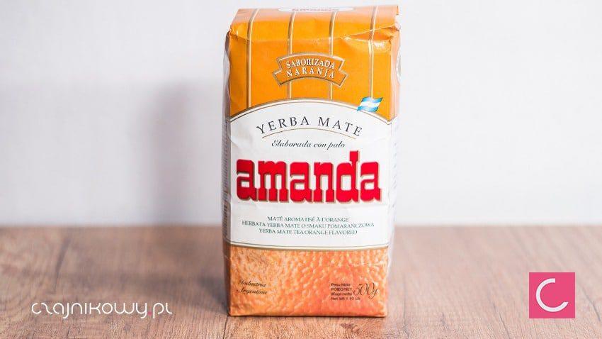 5b95f56f3eb09b Yerba mate Amanda Naranja pomarańczowa 500g – Czajnikowy.pl sklep z ...