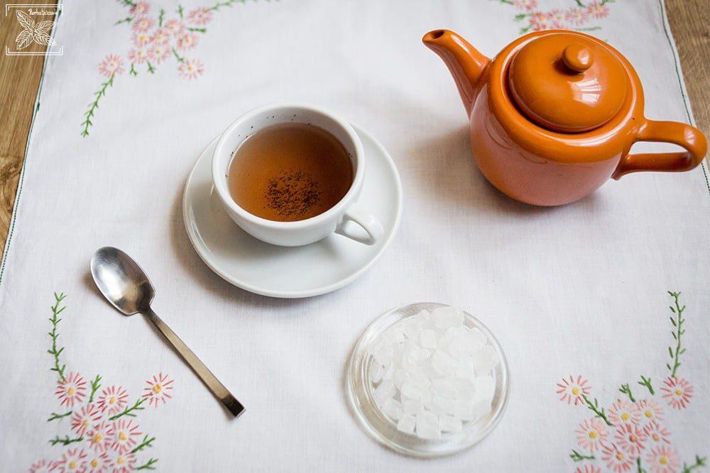 Herbata na śniadanie. Herbata śniadaniowa: napar